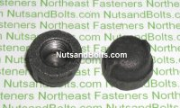 1/8 Black Pipe Cap Qty (1)