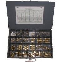 Brass Air Brake Assortment - 108 Pieces