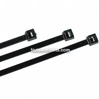 "14"" Nylon Cable Ties - Black Qty (100)"