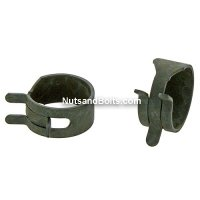 "5/8"" Hose O.D. Spring Action Hose Clamps Qty (100)"