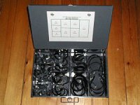 Tube Clamp Assortment - Large Drawer 76 pieces