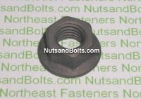 M10-1.5 (Thread Size) Metric Hex Flange Nuts Qty (25)