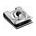 Mercedes-Benz U-Type Nut .7MM-1.5MM Range Qty (50)