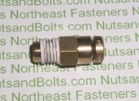 5/32 to 1/16 Brass Connector Tube to Male Pipe Fitting Qty (1)