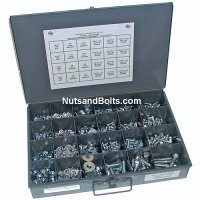 Nut, Bolt and Washer Assortment Grade 5 USS Plus Storage Box