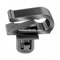 Mercedes-Benz Moulding Clip-Black Nylon Qty (10)