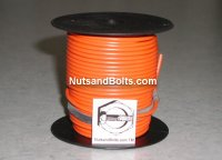 100' Orange 16 Gauge Primary Wire Qty (1)