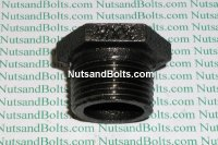 3/4 x 3/8 Black Pipe Bushing Qty (1)