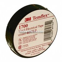 "3/4"" x 60' Black Electrical Tape Qty (1)"
