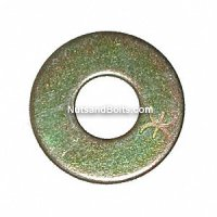 1/4 Flat Washer Grade 8 USS Qty (100)