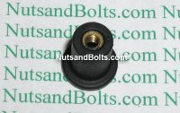 #6-32 Well Nuts - Head Diameter .452 Qty (25)
