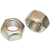 All Steel Lock Nuts Coarse