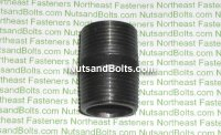 3/4 x 1 1/2 Black Pipe Long Nipple Qty (1)