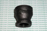 3/4 x 1/2 Black Pipe Reducing Coupling Qty (1)