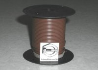 100' Brown 18 Gauge Primary Wire Qty (1)