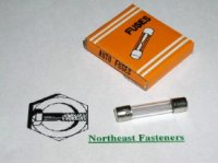 3 AMP AGC Glass Fuses Qty (5)