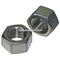 Stainless Steel Hex Nuts, Grade 18.8, Coarse Thread