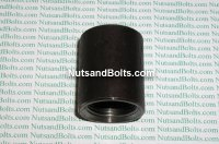 3/4 Black Pipe Merchant Coupling Qty (1)
