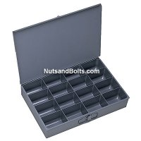 Metal Drawer (Larger) Compartment Drawer - 16 Bins
