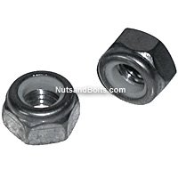 Stainless Steel Metric Nylon Lock Nuts, Grade 18.8, Coarse Thread