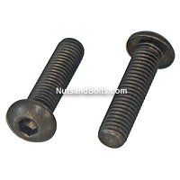 3/8-16 x 1 1/4 Button Socket Head Hex Drive Cap Screw (Bolt) Qty (25)
