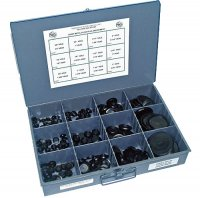 Sheet Metal Hole Plug Assortment - 190 Pieces