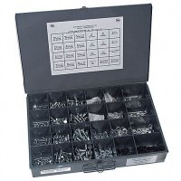 Metric Nut Bolt and Washer Assortment Gr 8.8 - 660 Pieces