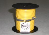 100' Yellow 16 Gauge Primary Wire Qty (1)