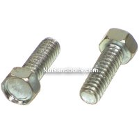 #10-24 x 1 Hex Head Machine Screws Qty (100)