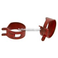 11/16 Inch Hose O.D. Spring Action Hose Clamps Qty (100)
