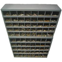 Nut, Bolt and Washer Assortment Grade 8 USS Two 40 Hole Bins