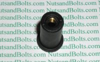 #1/4-20 Well Nuts - Head Diameter .635 Qty (25)