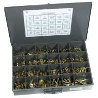 Nut, Bolt and Washer Assortment Grade 8 Coarse - 1025 Pieces