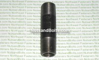 1/2 x 3 Black Pipe Long Nipple Qty (1)