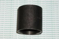 1 1/2 Black Pipe Merchant Coupling Qty (1)