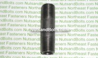 1/4 x 2 Black Pipe Long Nipple Qty (1)
