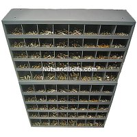 Nut, Bolt, and Washer Assortment Grade 8 Coarse (USS) - 3,570 Pieces