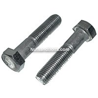 Stainless Steel Bolts, Grade 18.8, Hex Head, Coarse Thread