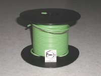 100' Green 10 Gauge Primary Wire Qty (1)