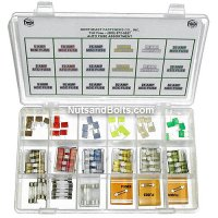 Mini Fuse, ATO and AGC Automotive (Car) Fuse Assortment - 90 pieces