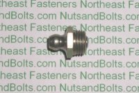 10mm-1.00, Straight Grease Fitting Qty (5)