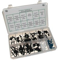 Push Retainer Assortment - 60 Pieces