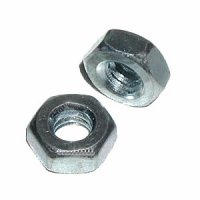#10-24 Hex Machine Screw Nuts Qty (100)