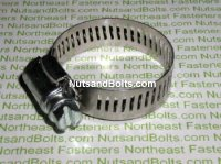#4 Hose Clamp Min 1/4 - Max 5/8 Qty (10)