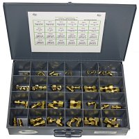 Brass Air Brake Assortment - 64 Pieces