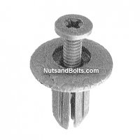 Honda Screw Rivet, M17 Head X M16 Long Qty (10)