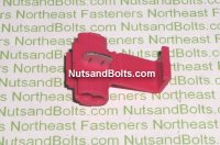 22-18 Scotch Lock Electrical Terminals Red Qty (100)