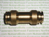 1/2 Push To Connect Brass Union Coupling Pipe Fitting Qty (1)