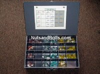 Heat Shrink Electrical Terminal Assortment - 200 pieces