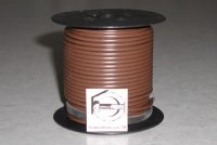 100' Brown 14 Gauge Primary Wire Qty (1)